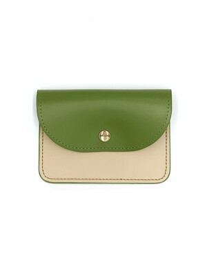EASY WALLET _OLIVE GREEN / IVORY