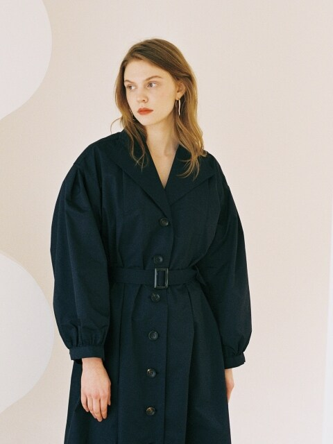 TRENCH DRESS NAVY