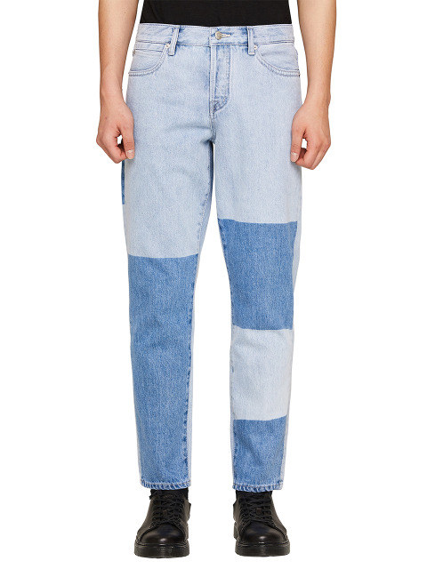 DAVID PATCHED BLOCK DENIM