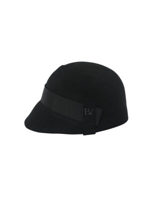Belly felt Hat_black