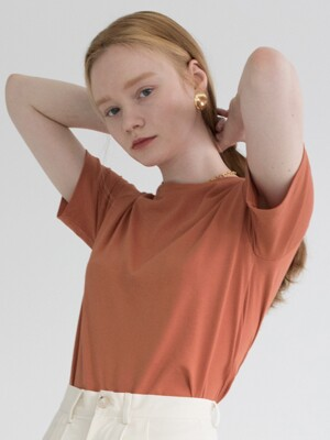 BASIC COTTON T (ORANGE)
