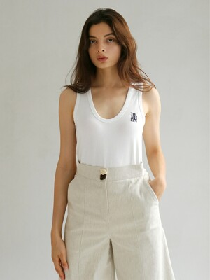 BREE EMBROIDERED TANK TOP