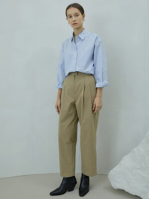 GR_pintuck wide pants DB