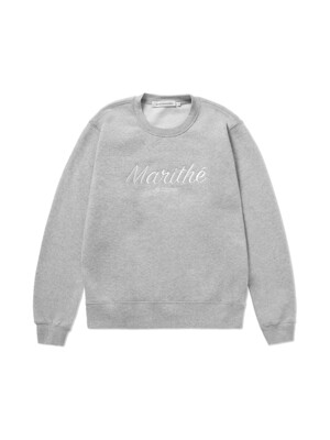 MFG MARITHE SWEATSHIRT heather gray