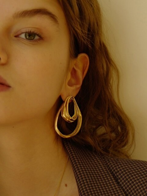 Flow Point Earring(1EA)