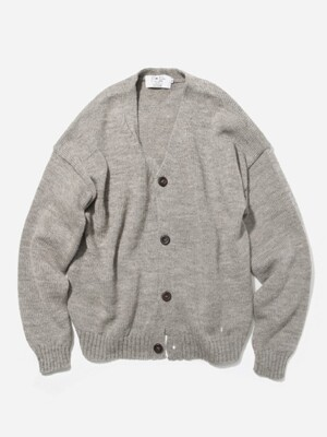 OVERSIZED CARDIGAN OATMEAL