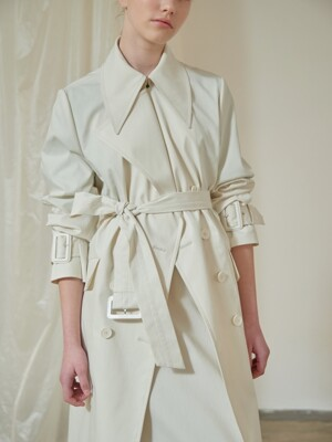 [단독]CT91CO01 CLASSIC COTTON TRENCH
