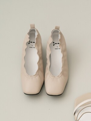 Meringue pumps 6cm / YY9S-P09 Light beige