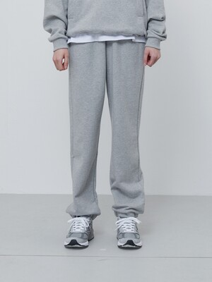 FINEST COTTON SWEATPANTS-GREY