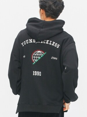 Globe Sweat-Hood (black)