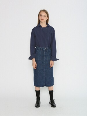 H DENIM SKIRT