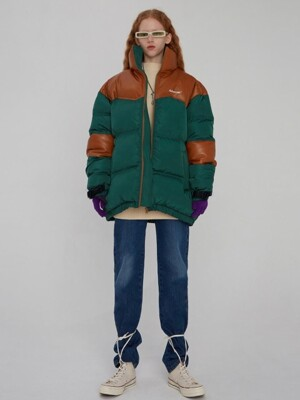 Dup puffer jacket Green