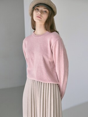 PASTEL WOOL SWEATER_PINK