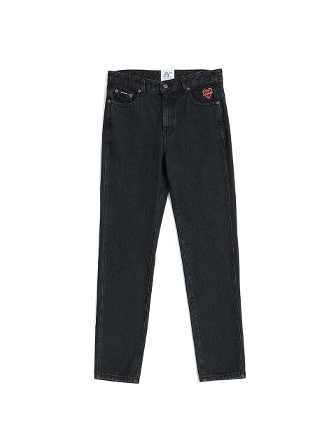 NOMANTIC LOGO DENIM PT BLACK