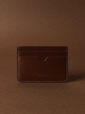 Card Wallet Dark Brown