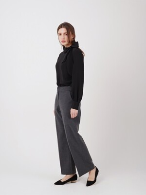 WIDE SLACKS_CHARCOAL