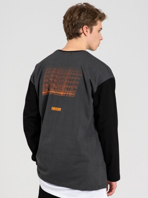 ENERGETIC LONG SLEEVE T-SHIRT DARKGRAY