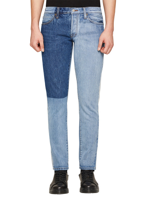 DAVID SLIM SIDE SEAM INDIGO BLOCK
