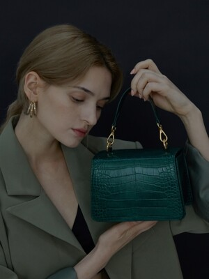 acode bag - dark green