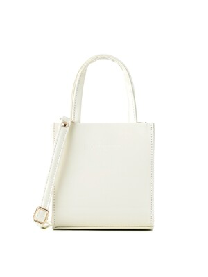 apple bag (cream) - D1024CR