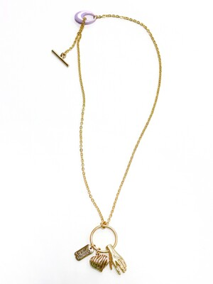 Queen's touch necklace (Gold)