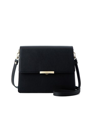 Rose cross bag (black) - D1003BK