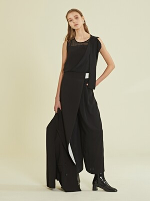 Asymmetric Jump Suit