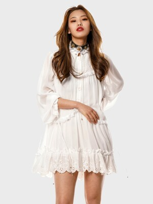 UWS-SS12 string lace dress[white(WOMAN)]