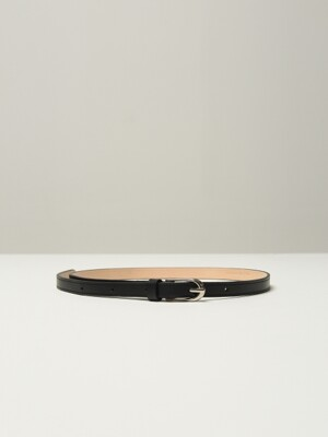 Vegetable leather belt (Black)