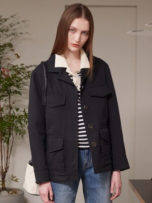 STANDARD FIELD JACKET BLACK (AEJU1E004BA)