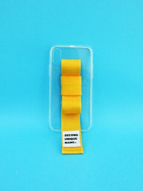 SUN CASE RIBBON CLEAR YELLOW (JELLY CASE)