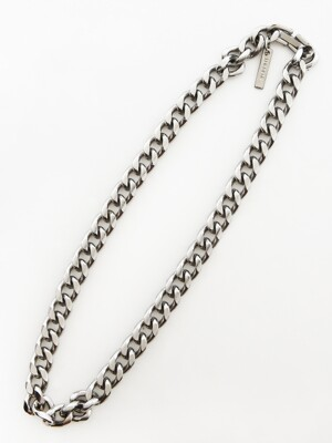 HEAVY CHAIN NECKLACE (SILVER)