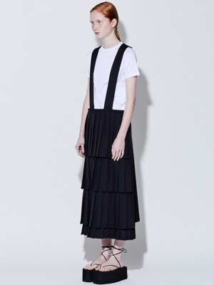 19SS PLEATS DRESS