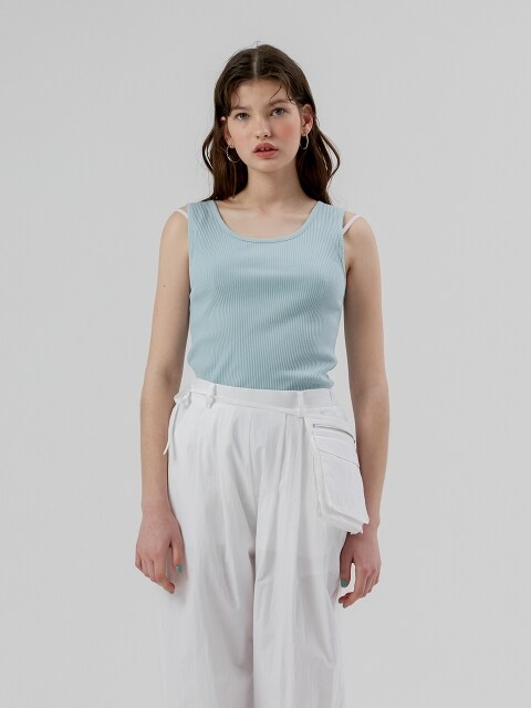 Basic Sleeveless [Sky Blue]