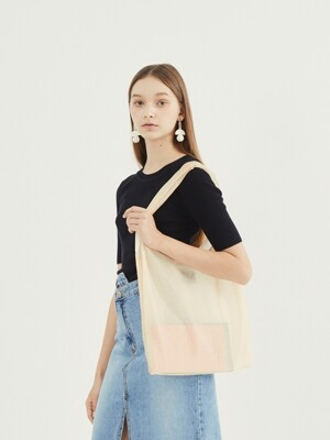 Daily orgaza bag_beige