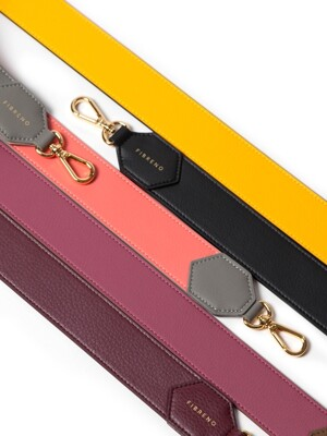 TWO TONE BAG STRAP (8 colors)