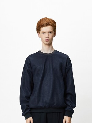 NORD OVERSIZE SWEAT-DEEP NAVY