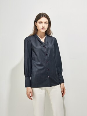 DANTE WOOL BLOUSE