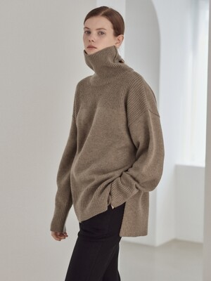 19WN roomy turtleneck [K/BE]