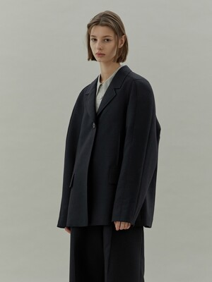 20SS ARMHOLE STITCH JACKET - NAVY
