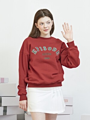 EPISODE SWEATSHIRT [WINE]