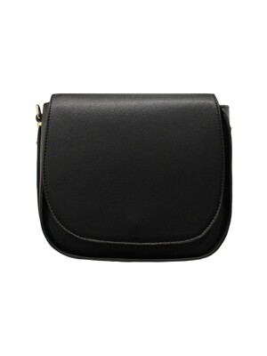 ROUND BLACK- SHOULDER BAG
