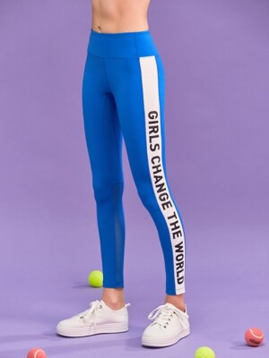 (LS-18152)ROLA SCOUT BAND LEGGINGS BLUE