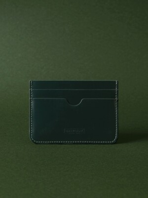 Card Wallet Dark Green