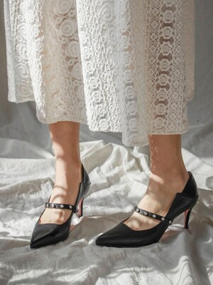 Manong pumps [BLACK]