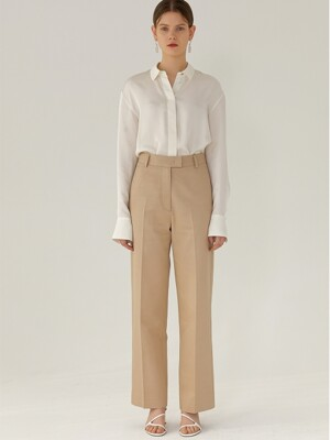 High-Rise Pants(BEIGE)