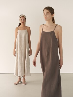 19RESORT LINEN SUMMER MAXI DRESS_2COLOR
