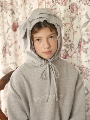 0 4 how old r u ribbon hood - GREY