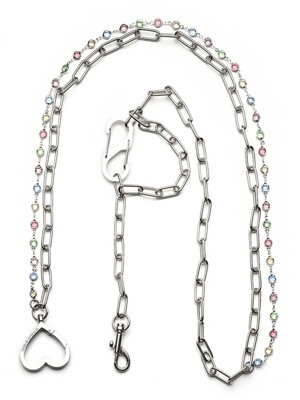 Love Cubic Layered Chain