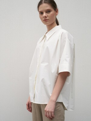 TTR OVERSIZED TUCK SHIRT 2COLOR